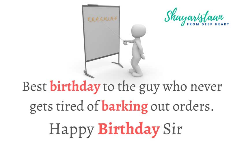 happy birthday sir ji   Best birthday🥰 to the guy who never gets 🥰tired of barking out orders.