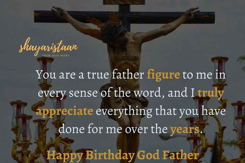birthday wishes for father in hindi | You😊 are a true father figure😇 to me in every sense of the word, and I truly 😘appreciate everything that you have done😘 for me over the years.