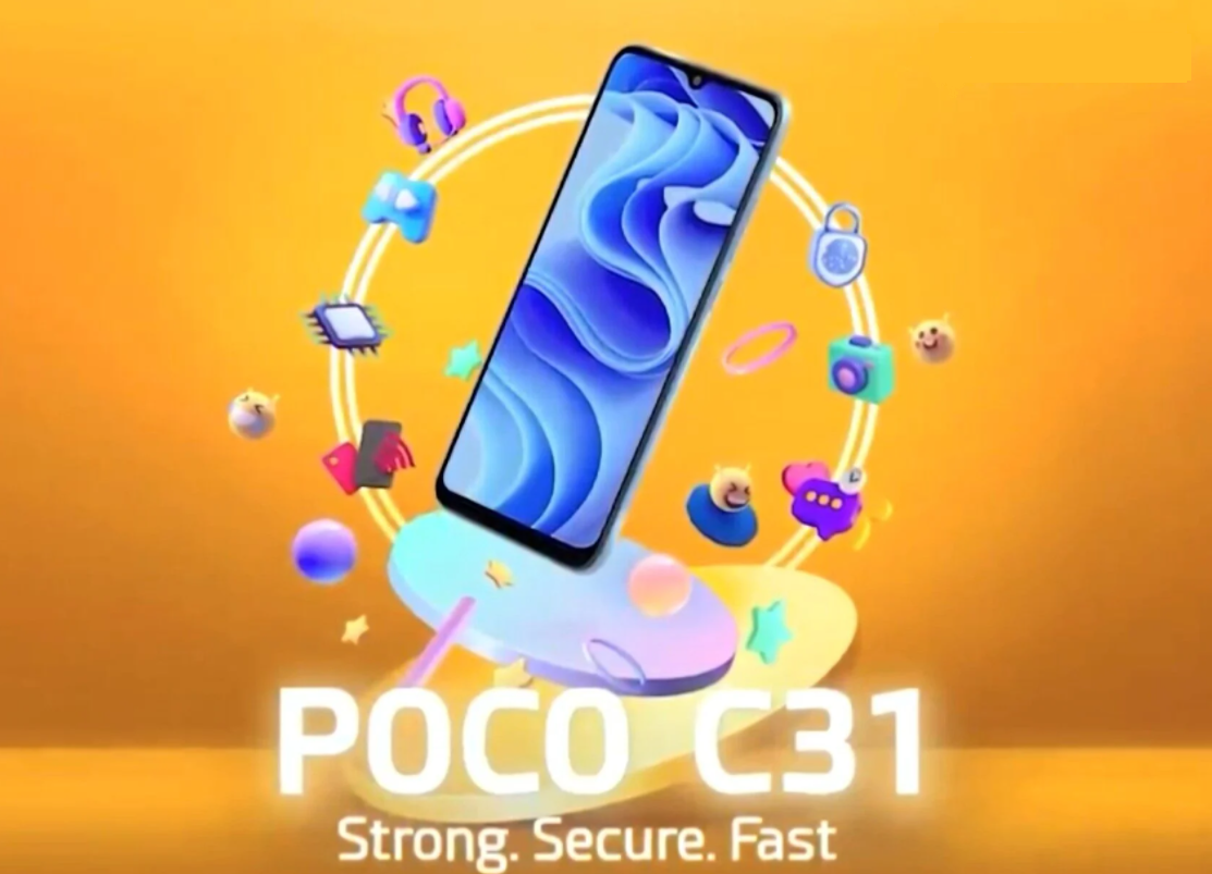 POCO C31 : All Hidden Facts and Specification