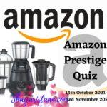 Amazon Prestige Quiz